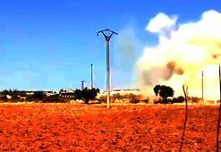 Son dakika... Suriyede Türk askeri konvoyuna hava saldırısı