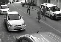 Dehşet kavga saniye saniye görüntülendi