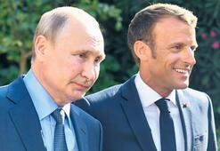 Putin ve Macron İdlib'deki gelişmeleri değerlendirdi