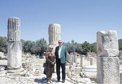 Antik kente sürpriz ziyaret