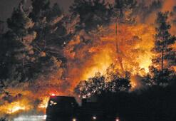 Ege'deki yangınlar  yüreğimizi yaktı