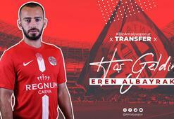 Antalyaspor, Eren Albayrakı renklerine bağladı