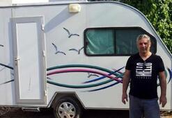 Emekli astsubayın satın aldığı karavan ikinci el çıktı