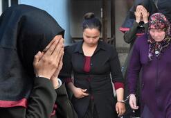 Hırsızlık için gelen 3 kadın, ev sahibinin akrabasıyla karşılaştı