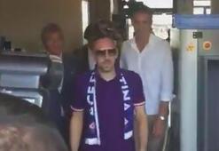 Franck Riberyye Fiorentina'da coşkulu karşılama