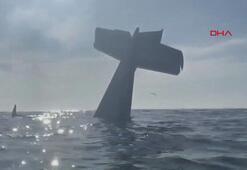 Korku dolu anlar Uçakları okyanusa düştü