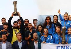 Erkekler Fenerbahçe, kadınlarda ENKA şampiyon