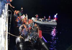 68 göçmen yakalandı