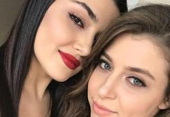 Hande Erçel suçu Instagrama attı