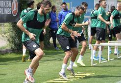 Konyasporda Galatasaray hazırlıkları sürüyor