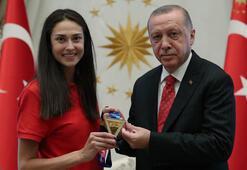 Cumhurbaşkanı Erdoğan, İrem Yamanı kabul etti
