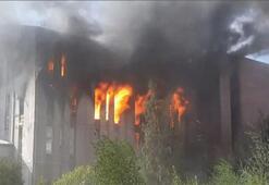 Alarm seviyesi beşe çıktı Rusyada korkutan yangın