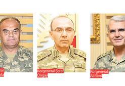 Üç orduya 'kor' seviyesinde atama
