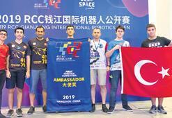 Türkiye Yıldızları Çin'den ödülle döndü