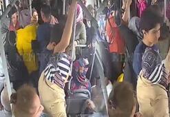 Kalp spazmı geçiren kadını otobüsle hastaneye götürdüler