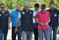 Polise havai fişekle saldıranlara şok baskın Yakalandılar