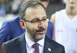 Bakan Kasapoğlundan Milli Atlet Salih Korkmaza tebrik