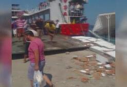 Avşa Adasında feribot faciası Yaralılar var