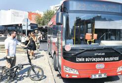Katlanır bisikletinizle otobüse binebilirsiniz
