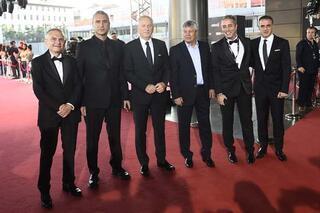 Futbolun Süperleri ödül törenine ünlü akını