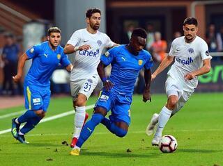 Kasımpaşa - Ankaragücü maçından kareler...