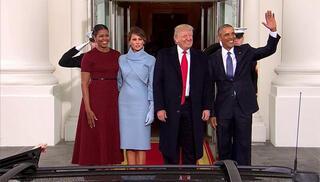 Son dakika: ABDde yeni dönem başlıyor Başkan Trump göreve başladı