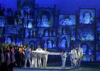 Rio Olimpiyatlarına muhteşem açılış