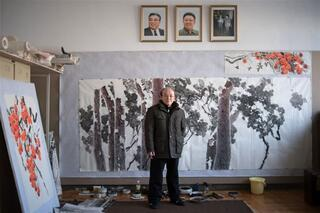 Kuzey Koreye giren AFP'den fotoğraflar