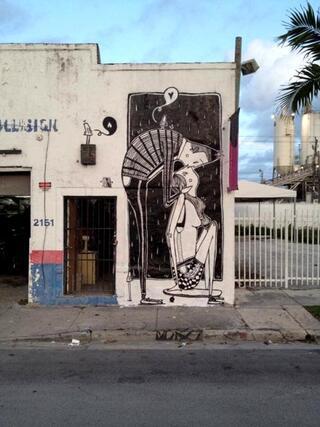 Bu da romantik sokak sanatı