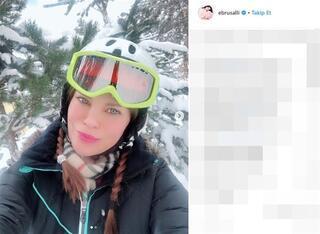 Ebru Şallının aşk tatili