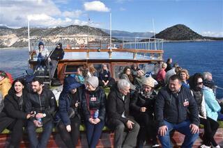 Rus turistler akın etti