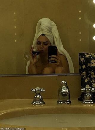 Banyodan fotoğraf paylaştı