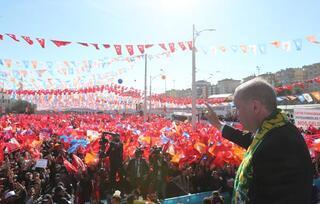 Cumhurbaşkanı Erdoğan: Bu trenden inen bir daha bu trene binemez