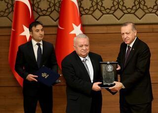 Cumhurbaşkanı Erdoğan Kültür ve Turizm Bakanlığı Özel Ödülleri töreninde konuştu
