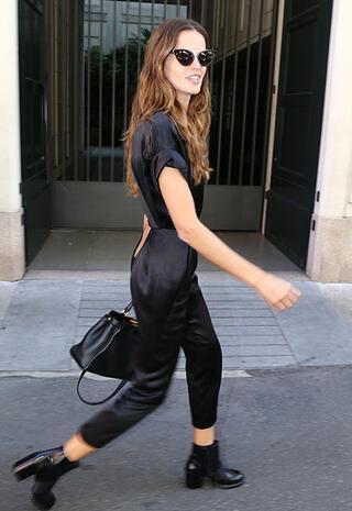 Ünlü stili: Izabel Goulart
