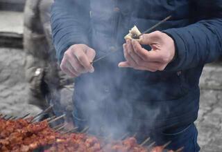 Diyarbakırın en önemli yemeği: Ciğer kebabı