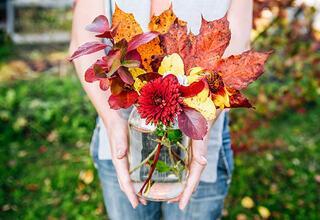 Sonbahar dekorasyon fikirleri