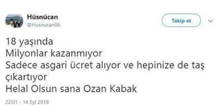 Ozan Kabakın performansı taraftarı coşturdu