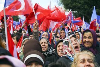 Büyük final Cumhurbaşkanı Erdoğan  50 günde 102 miting yaptı