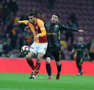 Galatasaray-EY Malatyaspor maçından kareler