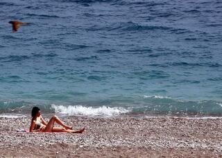 Konyaaltı Sahilinde 23 Nisan bereketi