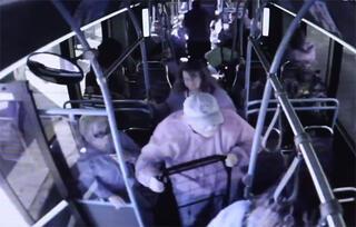 Otobüste vahşet