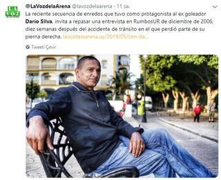 Eski Uruguaylı yıldız Dario Silvanın dramı...