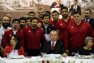 Cumhurbaşkanı Erdoğan: Mazimizden sadece ibret almayız, cesaret de alırız