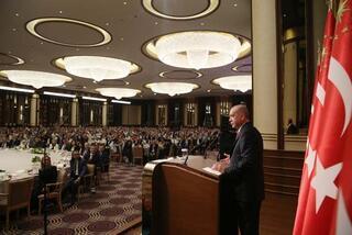 Cumhurbaşkanı Erdoğan elverişli zemine sahibiz dedi ve açıkladı: Projeleri devreye alabiliriz