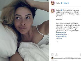 Ebru Gündeşin makyajsız fotoğrafı dikkat çekti