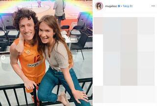 Galatasaraylı basketbolcu Caner Erdeniz ve oyuncu Müge Boz evleniyor
