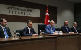 Cumhurbaşkanı Erdoğandan net mesaj: Sessiz kalmayız