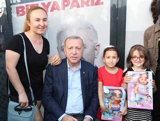 Cumhurbaşkanı Erdoğan vatandaşlarla bir araya geldi