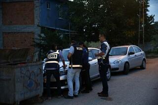 Ankarada asayiş uygulaması Çok sayıda polis katıldı...